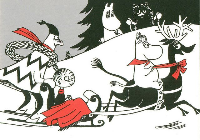 Christmas is coming in Moomin Valley