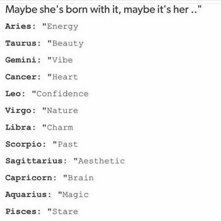 Virgo... NATURE. This is so true!