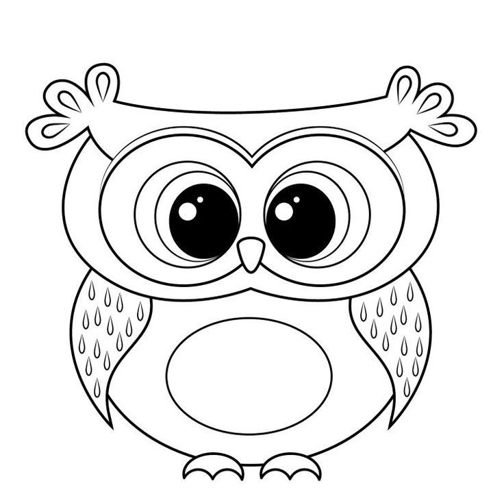 Les 25 meilleures id es de la cat gorie hibou dessin sur - Dessin de hibou ...