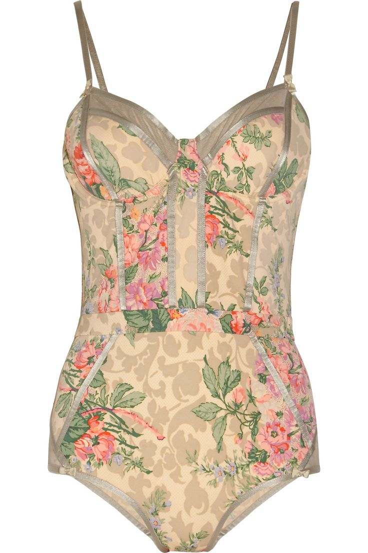 Zimmermann Devoted floral-print swimsuit