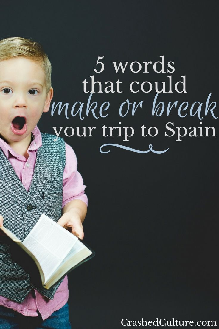Traveling to a new country is stressful enough, forget about having to live in a new language! Here's a few common traps you might fall into while you're in Spain or any other Spanish country, and how to avoid making a fool of yourself in an already difficult situation. via @crashedculture