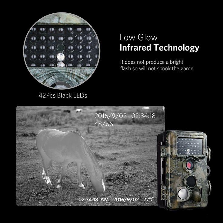 VicTsing Cámara de Caza, Impermeable IP66, 1080P HD, Trail Cámara PIR Infrarrojo Sensor de Movimiento, Visión Nocturna de Caza, Monitor de Salvajes, para Vigilancia: Amazon.es: Bricolaje y herramientas