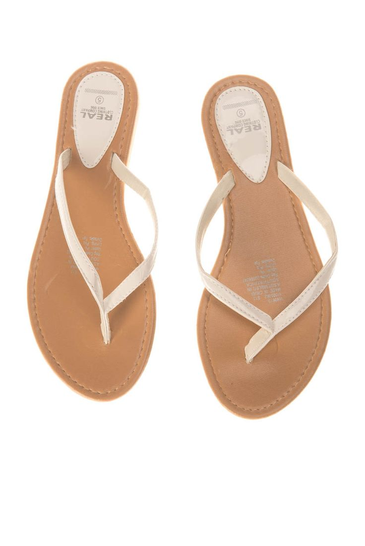 Pick n Pay Clothing - 014 537 2540  WHITE SANDALS R39.99