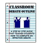 Hold a classroom debate with your students! This outline is designed to help teachers organize effective inquiry-based classroom debates. The outline gives students a STEP BY STEP outline of what they need to include in their debate. This assignment teaches students skills of a debate, how to take strategic notes, and general debating etiquette.