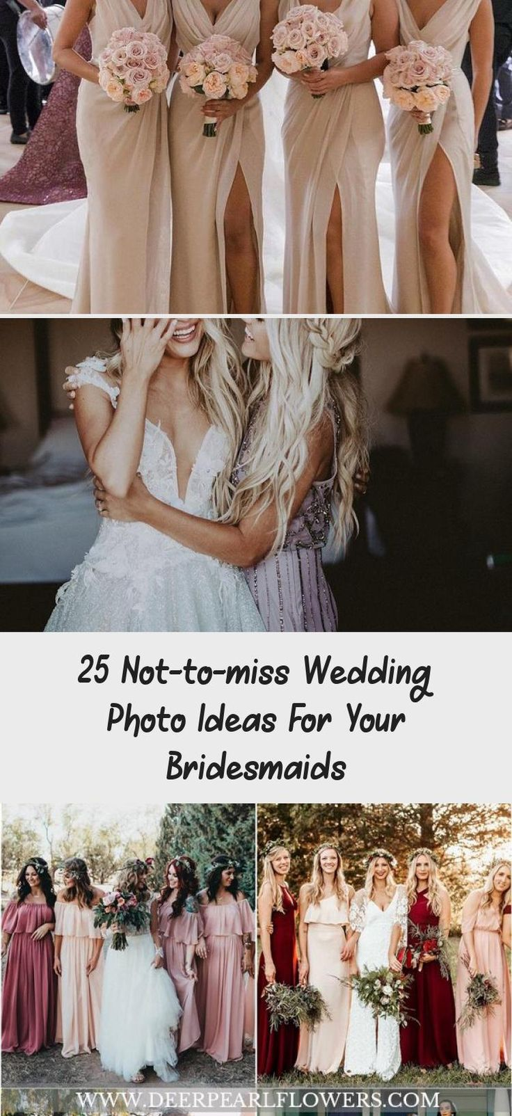 Wedding Photo Ideas For Your Bridesmaids  #wedding #weddingideas #weddingphotos #deerpearlflowers #BridesmaidDressesFall #ModestBridesmaidDresses #BridesmaidDressesSummer #BridesmaidDressesCoral #BridesmaidDressesBoho