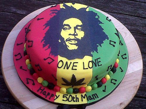 Rastafari Bob Marley Birthday Cake | Recent Photos The Commons Getty Collection Galleries World Map App ...
