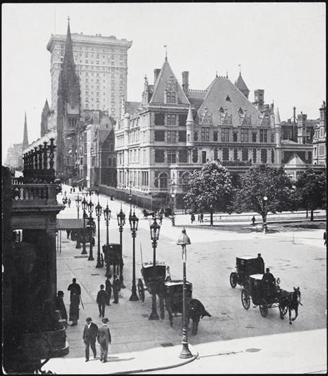 5th Avenue and 59th Street, Cornelius Vanderbilt House - Museum of the City of New York