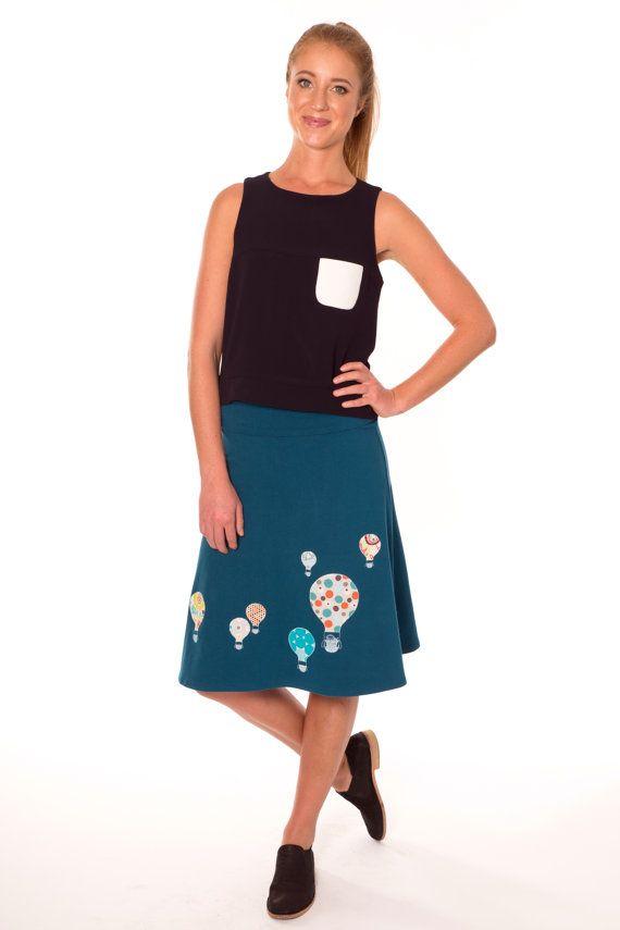Mooie Design rok een lijn rok vrouwen rokken midi door Zoeslollipop