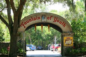 The Fountain of Youth in St. Augustine Florida