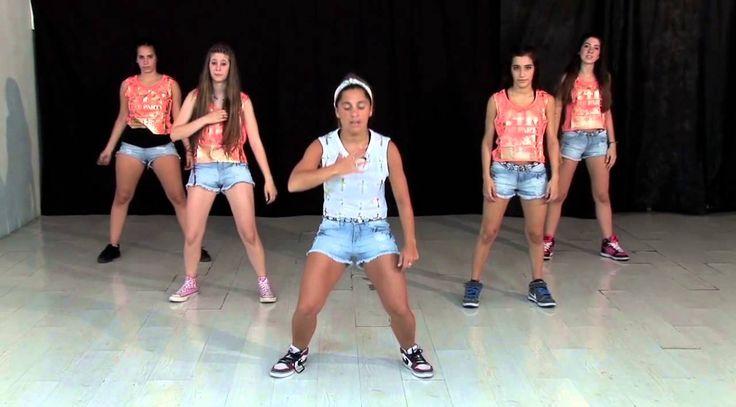 Coreografía de Algo Que Me Gusta de Ti de Wisin y Yandel (Paso A Paso) / TKM