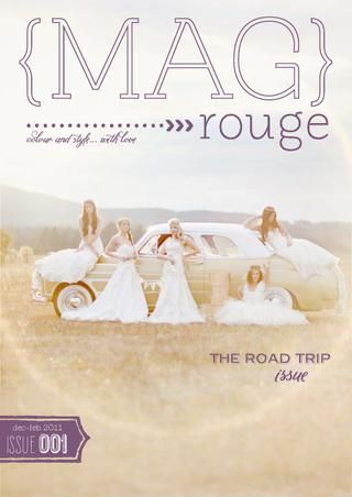 MAG rouge - the road trip issue