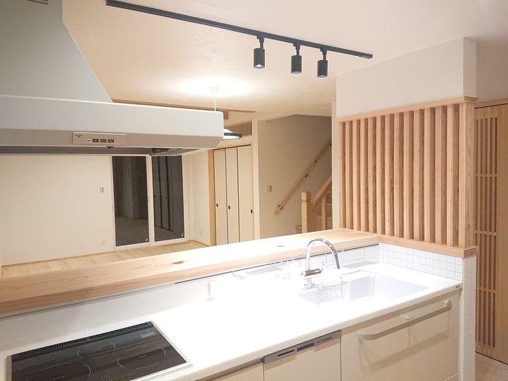 施工事例 兵庫 姫路で一戸建て注文住宅ならアイスタイル 一戸建て 注文住宅 リビング キッチン