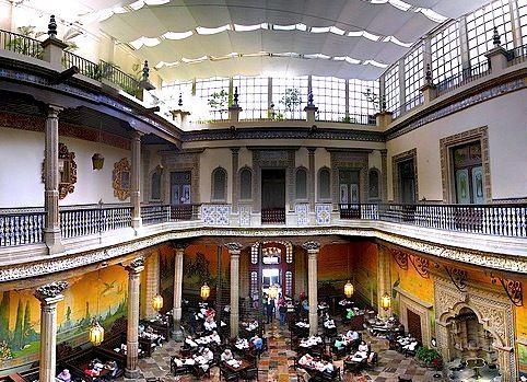 Mejores 650 im genes de arquitectura antigua de mexico en for Sanborns azulejos historia