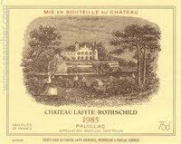 Chateau Lafite Rothschild, Pauillac, France wine label