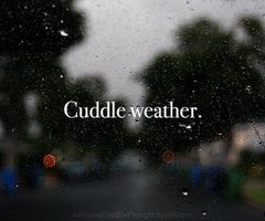Who doesn't love to cuddle?!?! It makes you feel so comfortable and warm and loved! ;)
