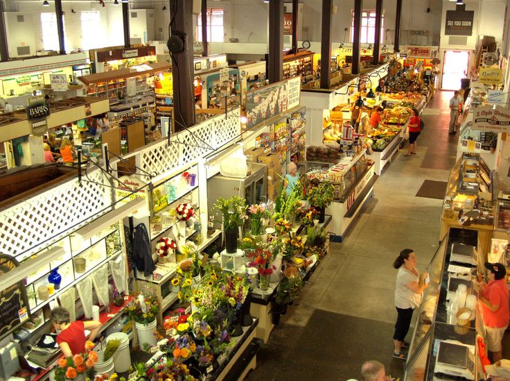 Lancaster Central Market.The country's oldest farmers' market, in the heart of Amish country occupies a beautiful 109 year old red brick building chock-full of local character. Regional food specialties include Pennsylvania Dutch sausage, scrapple (a breakfast meat of pork scraps and cornmeal), and headcheese (like scrapple, an acquired taste). You'll also find preserves, including chowchow (pickled vegetables in a spicy mustard sauce), and bread and butter pickles. Open Tuesdays ...