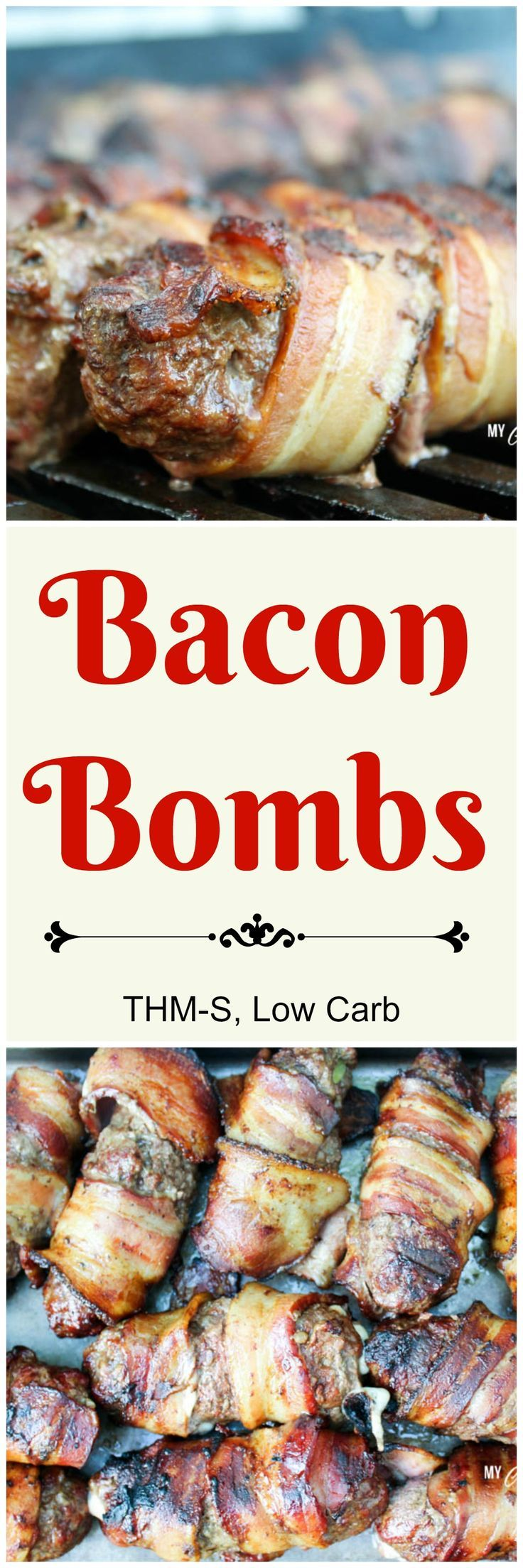 Bacon Bombs (THM-S, Low Carb). Bacon lovers will love this delicious low carb appetizer.