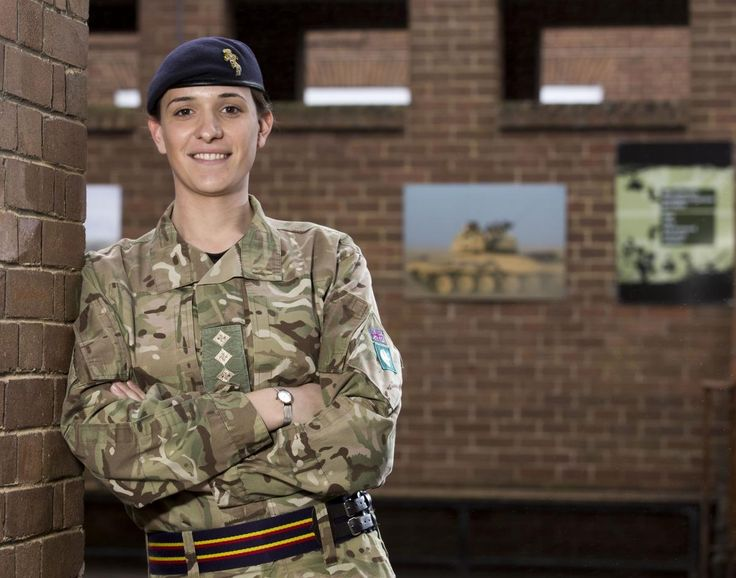 Captain Hannah Winterbourne who is the highest ranking transgender soldier in the British Army.   Credit: The Sun / News Syndication.  Online rights need to be cleared separately.