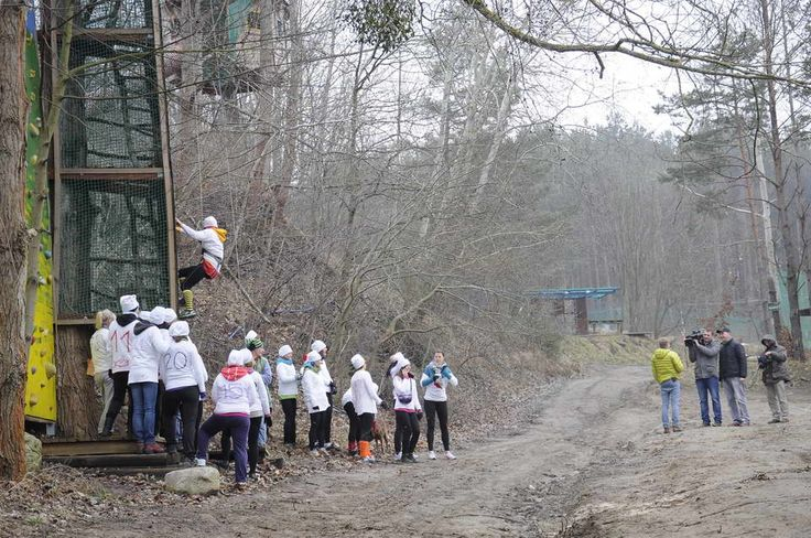 #kolibki #kobiety # dzień kobiet # wspinaczka #climb #adventure park #rope place