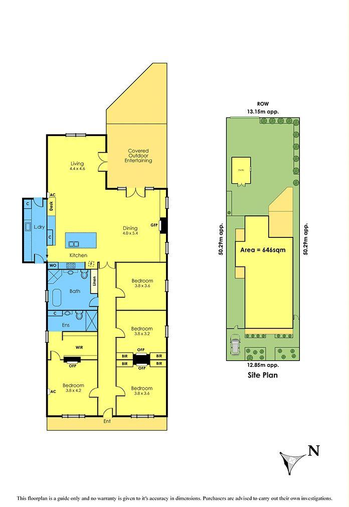 49 Oxford Street, Newport, Vic 3015 - floorplan
