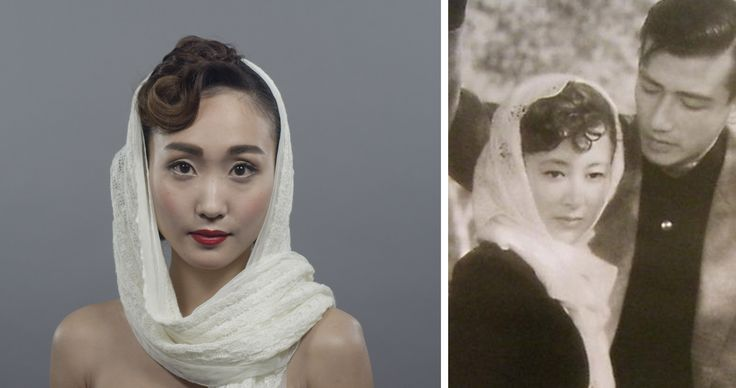 100 Years of Beauty - Japan #1950s #hair #style #fashion #makeup #machikomaki