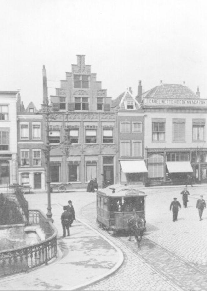 23  Groenmarkt / Visburg 1907