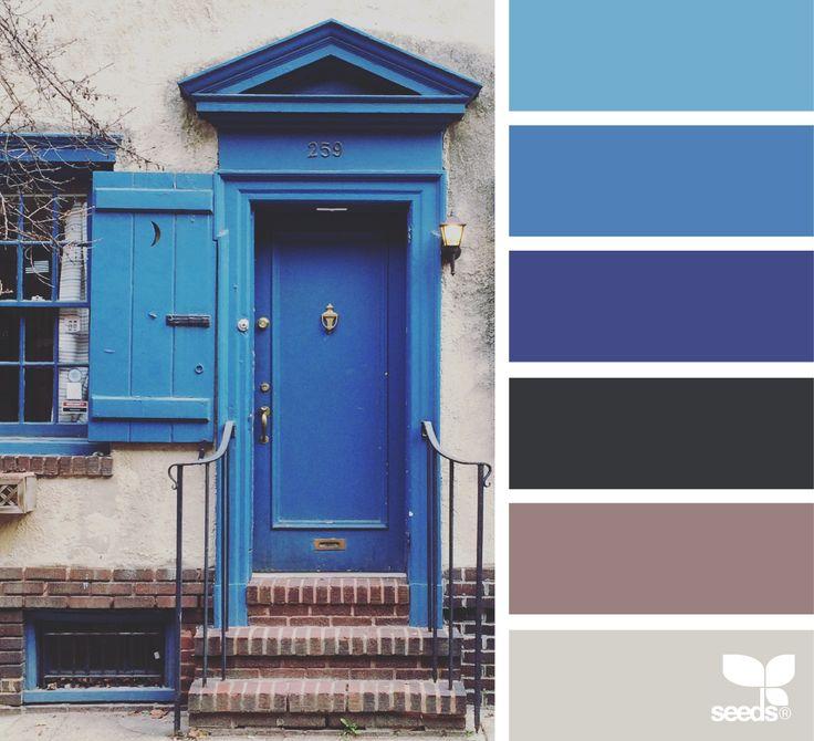 {} Una puerta azul a través de la imagen: @suertj