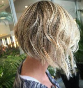 Soft inverted bob hairstyle by Marco Mauad