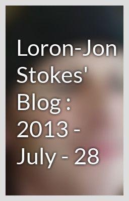 Loron Jon Stokes' Blog : 2013   July   28