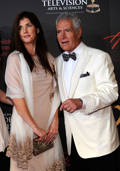 JAlex Trebek (R) and Jean Currivan Trebek arrive at the 38th Annual Daytime Entertainment Emmy Awards held at the Las Vegas Hilton on June 19, 2011 in Las Vegas, Nevada.