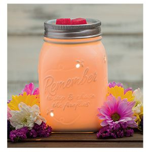 Mason Jar Scentsy Warmer I just love this!!