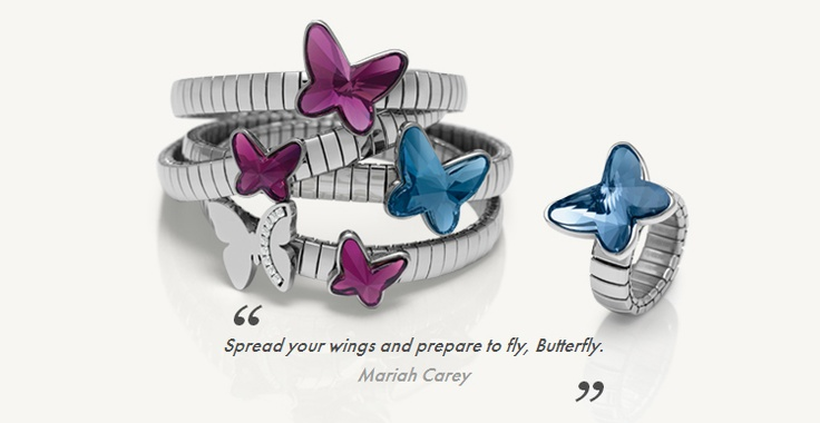 Butterfly Collection from Nomination at The Gift Box