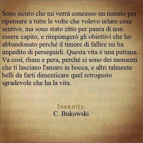 ~Bukowski~ vita de puta