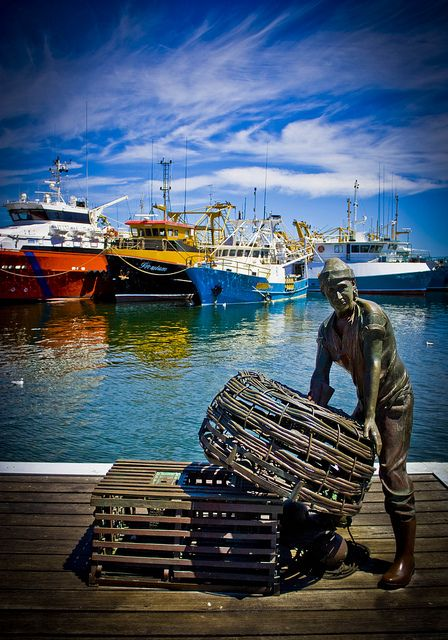 Fremantle Western Australia...I love Fremantle such a cosmopolitan feel...I don't get there as often as I should....Been going there all my life (baby boomer)...fishing harbour, sea air, coffee strip, great places to browse and to eat, interesting people and of course great FISH and CHIPS