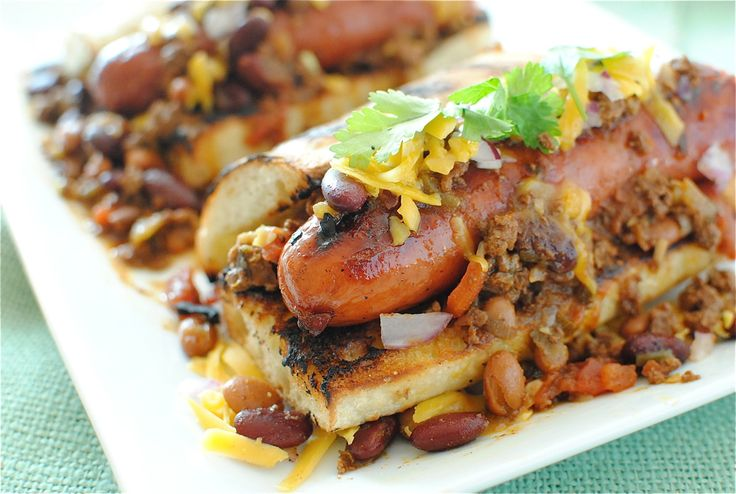 Gourmet Chili Dogs | Bev Cooks