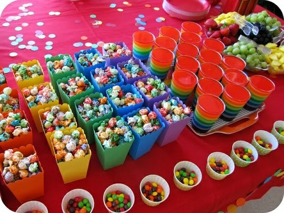Colorful Party Food for Children