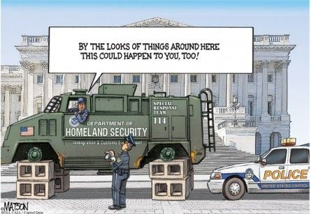 DHS Funding Debate Gets the Capitol Quip Treatment