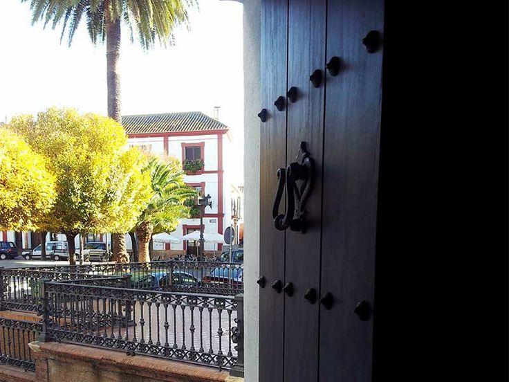 Detalle Entrada Posada San Fernando, Hotel con Encanto en Carmona