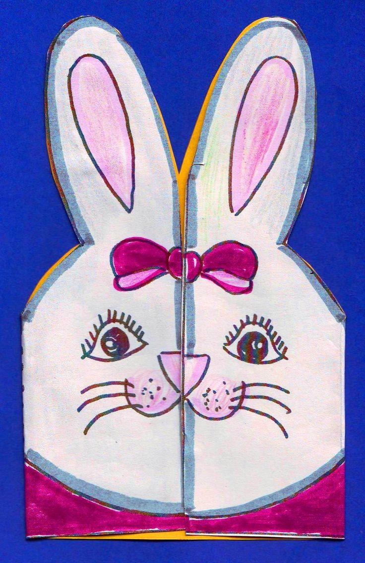 girl-bunny-card.jpg (1418×2188)