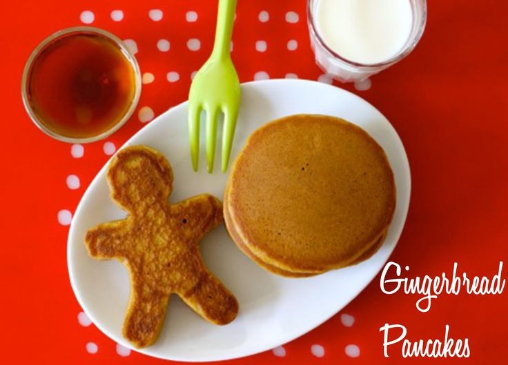 Get your Christmas started right with these yummy pancakes! from @weelicious #WeanGreenEats #FestiveFoodies #Breakfast