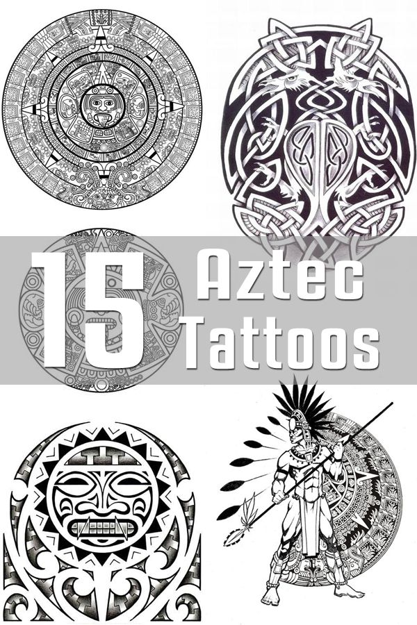 15 Aztec Tattoo Designs | The Body is a Canvas