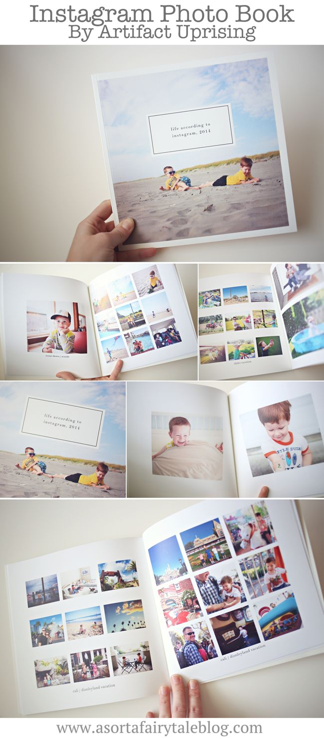 Instagram Book by Artifact Uprising!