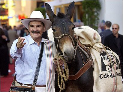 Juan Valdez (and Conchita). As a 50% Colombian (by marriage) I declare him El Dude.