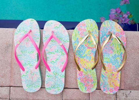 Lilly Pulitzer Women's Lilly Pulitzer Print Flip Flop D1kzpT6t36