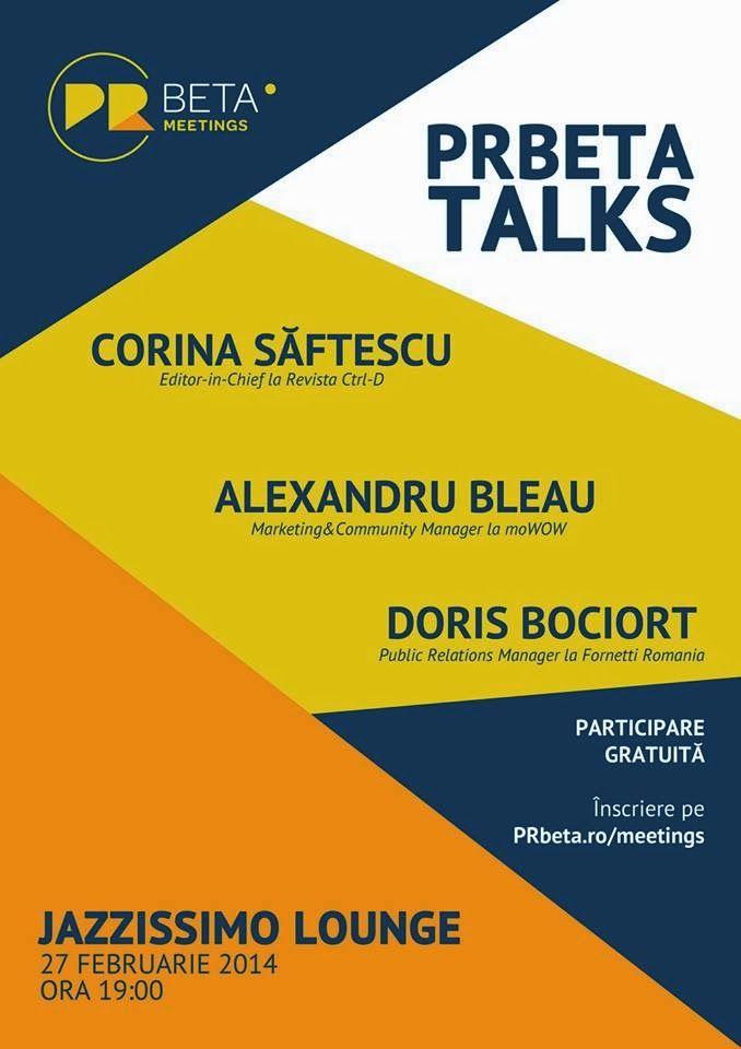 DeBunăVoieŞiNesilităDeNimeni: PRBeta Talks