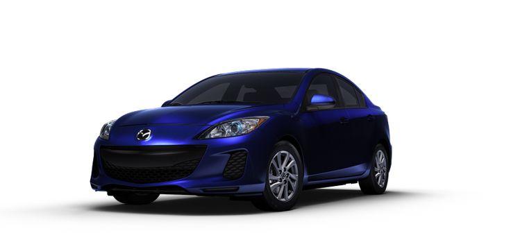 2013 Mazda3 Sedan Fuel Efficient Compact Car - up to 40 MPG | Mazda USA