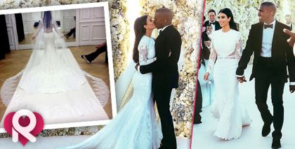 She Couldn't Wait! Kim Kardashian Shows Off Intimate Wedding Pics, Brags About Being 'Mr. & Mrs. Kanye West'   Radar Online