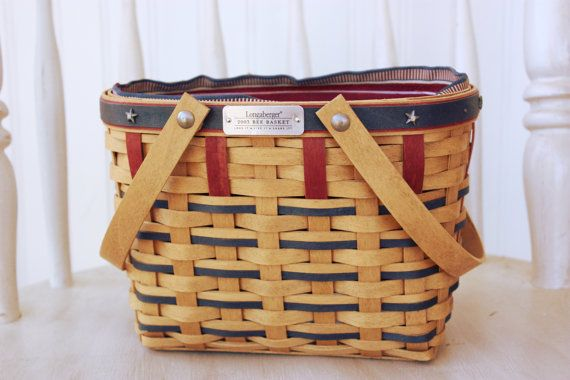 Longaberger Bee Basket 2003 Baskets Etsy And Bees