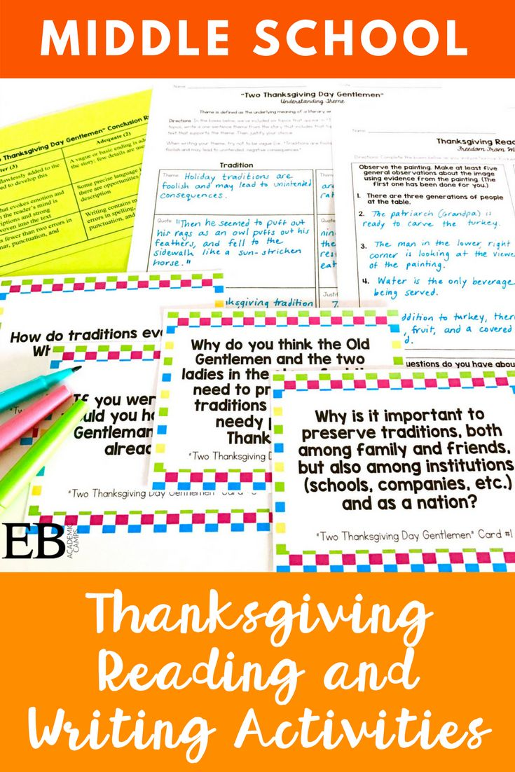 This Thanksgiving mini-reading unit and activities for Middle School and High School students is perfect to use in the week or two leading up to Thanksgiving break. Students will warm-up with a critical observation of Norman Rockwell's iconic Thanksgiving Day painting, Freedom From Want. Following a discussion of students' initial perceptions of the painting, they will read background information about the painting itself and what inspired its creation (President Roosevelt's 1941 State of…