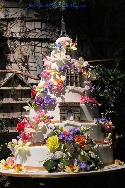 Cake Boss 2011 Philadelphia Flower Show Cake by NYC Style Little Cannoli, via Flickr